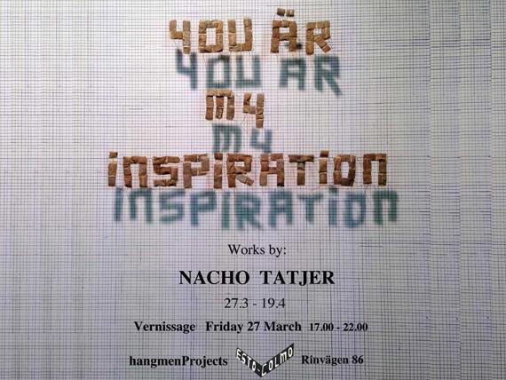 Nacho Tatjer: You Are My Inspiration