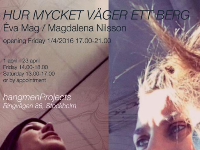 Éva Mag and Magdalena Nilsson