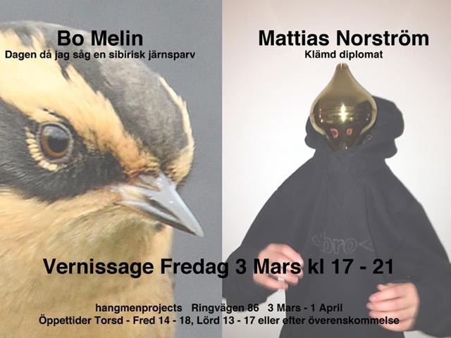 Bo Melin och Mattias Norström
